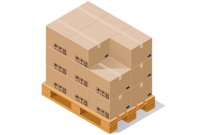 Produktion plywoodlådor